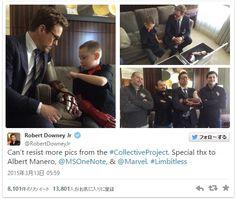 ロバート・ダウニー・Jr、右腕のない少年にアイアンマン風の義手をプレゼント