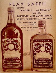 Waterfill & Frazier ad - Prohibition