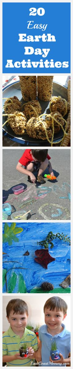 Simple ideas for celebrating Earth Day with kids.