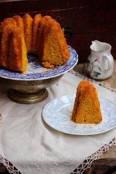 Ciambella esotica al Tg5 Gusto Verde Chiffon Cake, Nutritious Meals, Cornbread, Sweets, Ethnic Recipes, Cottage, Cakes, Food, Green