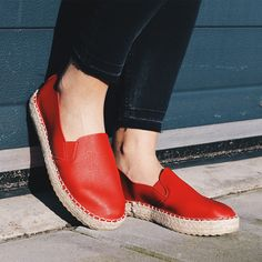 Ready for spring! #fashion #model #webshop #photography #shoes #newcollection #collection #spring #redshoes #espadrilles #shoeparty #outdoors #summertime