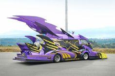 "Japan's Itasha, literally ""painful cars"" [Photo Gallery]"