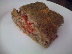 Maková bublanina • recept • bonvivani.sk Meatloaf, Food And Drink, Beef, Kitchens, Meat, Steak