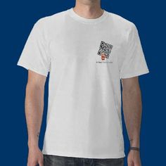 qr code graphic t-shir: t Photography of Anthony Tilghman by Olive_Rosehips