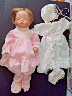 SUGAR BRITCHES Porcelain Doll Reproduction Boots Tyner Design 1986 Blond 20in