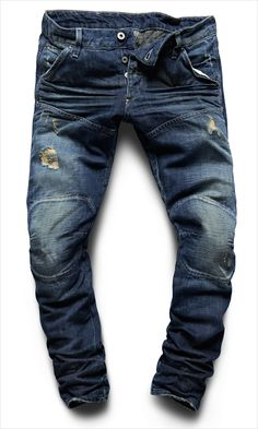 G-Star Elwood 5620 3D low tapered medium aged washing