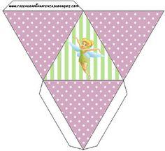 Tinker Bell – Kit Completo com molduras para convites, rótulos para guloseimas, lembrancinhas e imagens!  Fazendo a Nossa Festa
