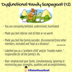 99 - Family scapegoat