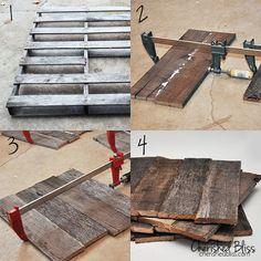 diy pallet wood chargers, design d cor, pallet projects