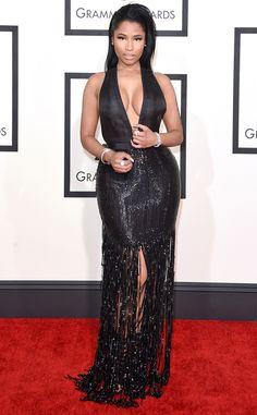 Nicki Minaj from 2015 Grammys: Red Carpet Arrivals  In Tom Ford #2015grammys #redcarpet #nickiminaj