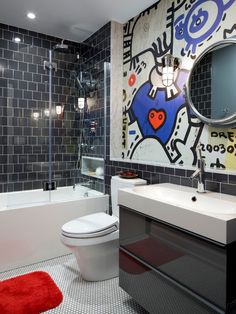 this would be cute for a boys bathroom