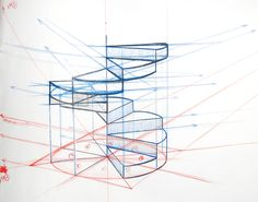 how to draw a spiral staircase - Google Search