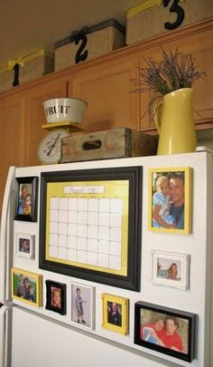 54 Dollar Store Crafts For The Homestead – diy kitchen decor dollar stores Do It Yourself Design, Do It Yourself Home, Organizing Hacks, Home Organization, Refrigerator Organization, Refrigerator Magnets, Diy Hacks, Dollar Store Crafts, Dollar Stores