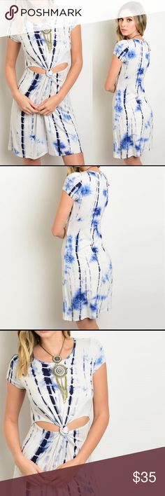 e1ba1356e7 Dress Bundle to save PRICE FIRM UNLESS BUNDLED Twisted Knot Tie Dye Dress  Fabric Content