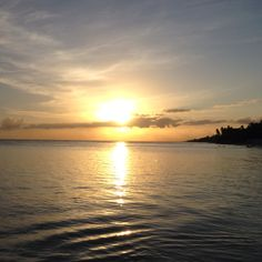 Sunset in Guayacanes, DR
