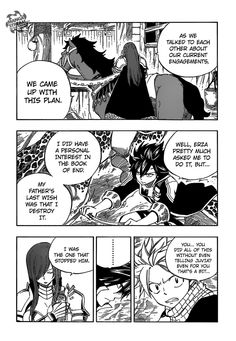 Fairy Tail 430 Page 7. Erza