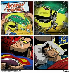 Dragonarte Justice League parody