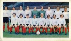 Fulham team group in Fulham Fc, 1970s, Football, Group, Soccer, Futbol, American Football, Soccer Ball