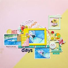 One of Those Endless Summer Days @paroe Patricia Roebuck @gossamerblue August kits