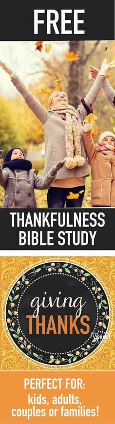 A Bible Study for Thanksgiving - FaithGateway