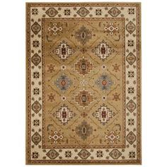 Gold Area Rug