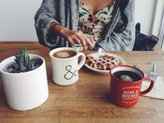 all things necessary for life (succulents, coffee, grandma sweaters, & good food)