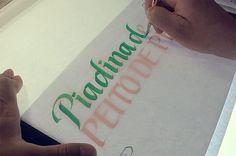 Polenghi – Calligraphy & Lettering on Behance