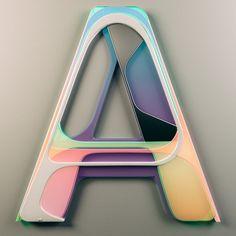 Inventive Typography by Leonardo Betti   Netfloor USA
