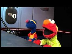 Elmo, Grover & Greg James sing Call Me Maybe on BBC Radio 1 during the Olympics!