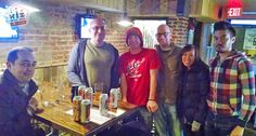 The crew including Nick from Bullets Forever and Dan from the Washington Post DC Sports Bog met up at Smoke & Barrel in Adams Morgan to watch the Wizards take on the Hawks. There were $4 Narragansetts and the Wizards game audio was blasting in the bar despite the fact that the NFL Playoffs were one. Just another Sunday Funday! Here's what went down: