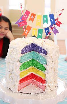 Rainbow Birthday Par