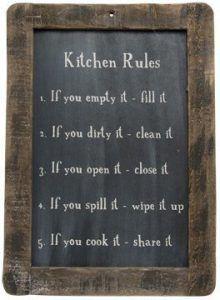 kitchen rules amazon-farmhouse decor finds-www.thedecoratednest.com