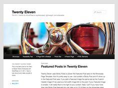 Twenty Eleven — Free WordPress Themes