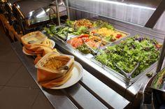 Lunch salad bar Mastico Restaurant San Jose - Costa Rica #travel #food #foodie