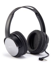 Stereo Headphones - Get music and movie sound from these Sony stereo headphones featuring an ear conscious design that fits any shape of ear naturally without squeezing.