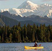 Alaska kayaking, wildlife viewing, scenic views in Denali State Park
