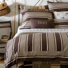 I pinned this Saginaw Duvet from the Taylor Linens event at Joss and Main!