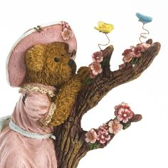 boyds bears figurines | Boyds Bears Figurine (Cora Blossombeary. Marveling at Nature's Beauty ...