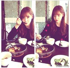 SNSD Yoona have lunch with Tiffany - from Tiffany' Instagram 01/11/14