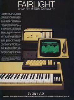 Fairlight CMI Anzeige 1984
