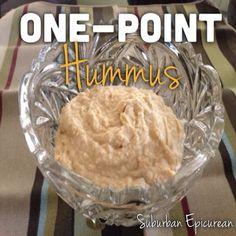 Suburban Epicurean: One Point Hummus