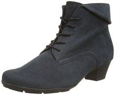 Gabor Shoes 35.630 Damen Kurzschaft Stiefel, Blau (ocean 16), 36 EU - http://on-line-kaufen.de/gabor/36-eu-gabor-shoes-35-63-damen-kurzschaft-stiefel