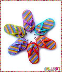 """""""Summer Holiday"""" Flip-Flops pendants   Flickr - Photo Sharing!"""