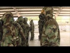 Air Force BMT Gas Chamber - YouTube