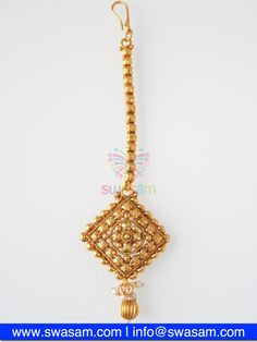 Indian Jewelry Store | Swasam.com: Tikka with Perls and White Stones - Tikka - Jewelry Shop to Buy The Best Indian Jewelry  http://www.swasam.com/jewelry/tikka/tikka-with-perls-and-white-stones-1502.html?___SID=U  #indianjewelry #indian #jewelry #tikka