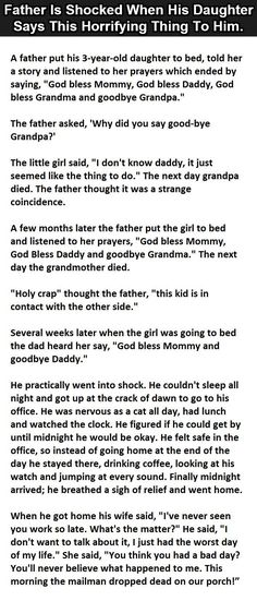 Father Got Horrified When His Daughter Said This – Jokes Of The Day Funny Texts, Funny Jokes, Hilarious, Memes Humor, Cat Memes, Scary Stories, Funny Stories, Funny Cute, The Funny