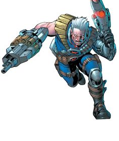 Cable by Carlos Pacheco Cable Marvel, Marvel Cards, Live Action Movie, Freedom Fighters, Comics Universe, Xmen, Illustration Art, Illustrations, Movies And Tv Shows