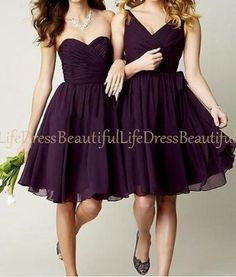 purple bridesmaid dress / purple bridemaids by BeautifulLifeDress, $89.99