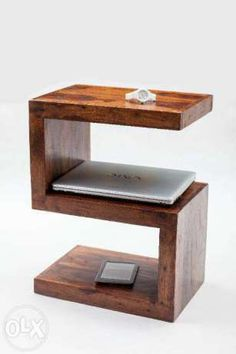 Wooden Projects, Home Projects, Wood Crafts, Kids Woodworking Projects, Console Furniture, Diy Pallet Furniture, Furniture Design, Centre Table Design, Wood Table Design
