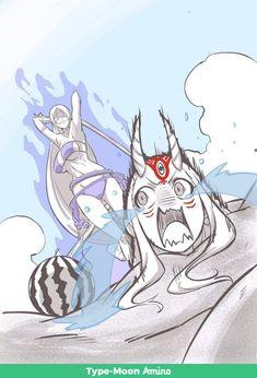Ibaraki's in danger, yet again. Ibaraki, Fate Zero, Fate Stay Night, Manga Anime, Anime Art, Character Art, Character Design, One Punch Anime, Gamers Anime
